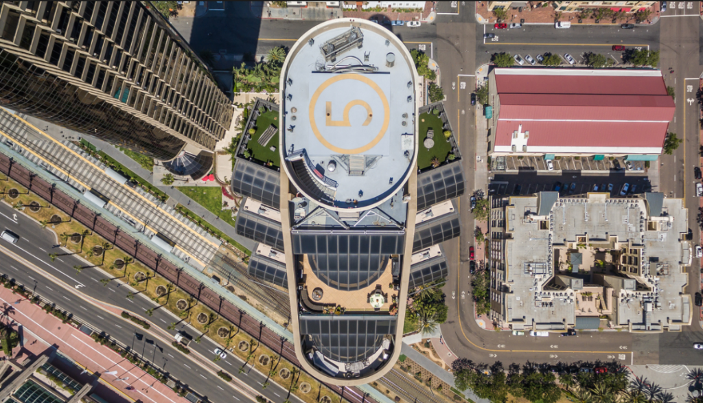 Helipad, Harbor Club, San Diego Construction, CMP, Cornerstone, Tom Brooks